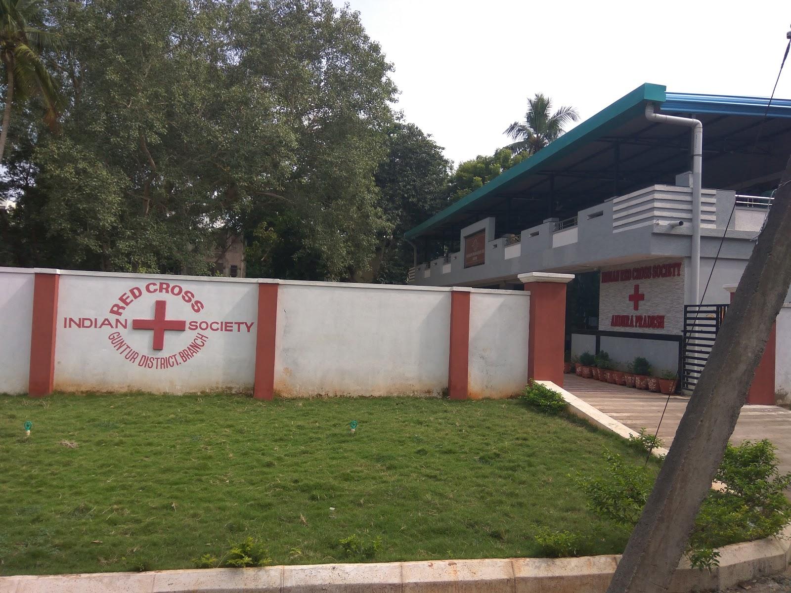 blood bank Indian Red Cross Society near Guntur Andhra Pradesh