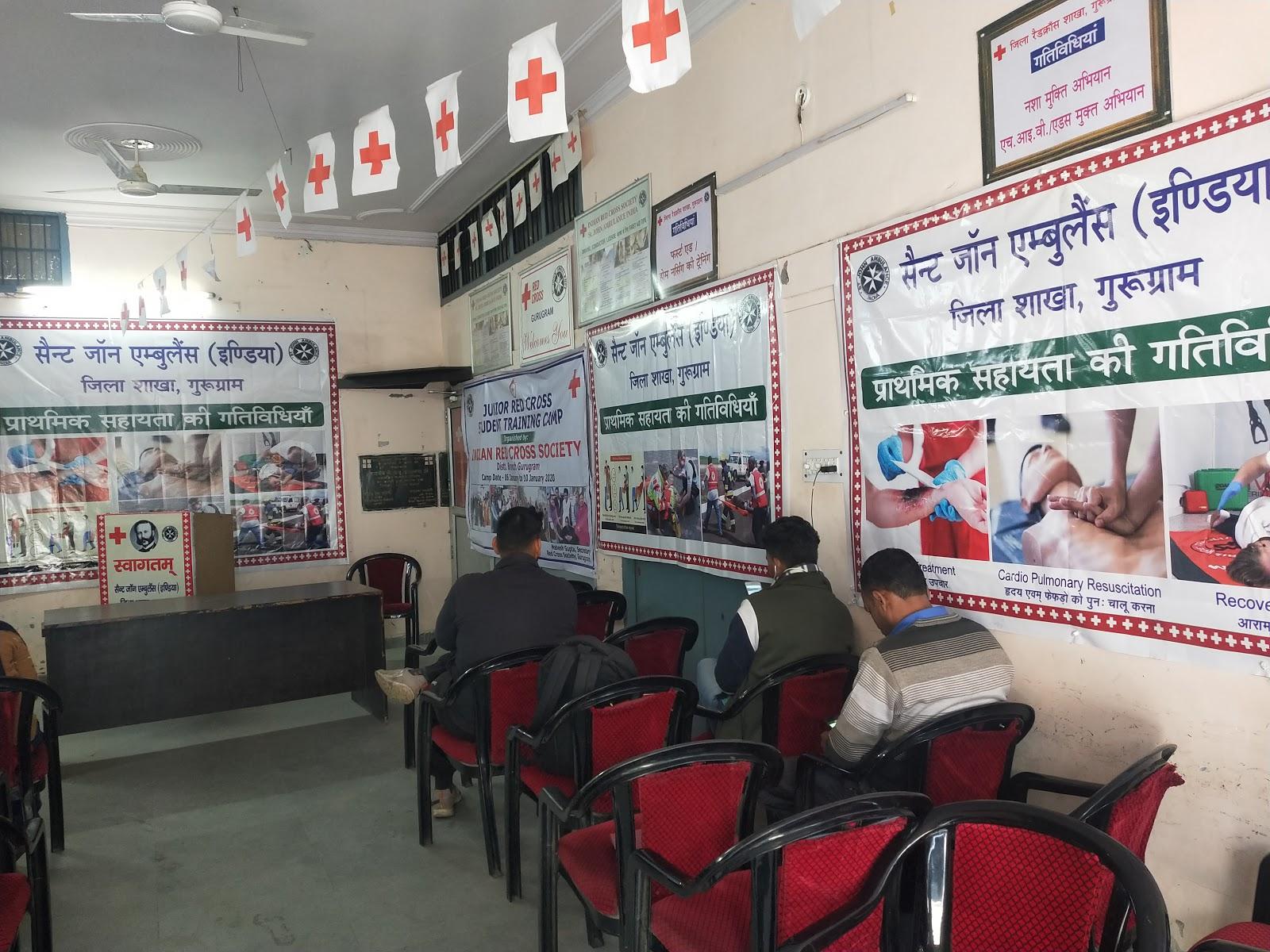 blood bank Indian Red Cross Society near Gurugram Haryana