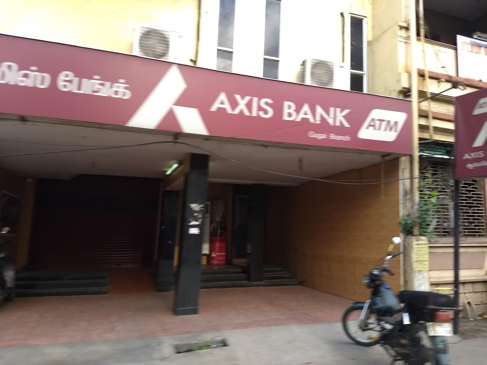 blood bank Axis Bank near Vellore Tamil Nadu