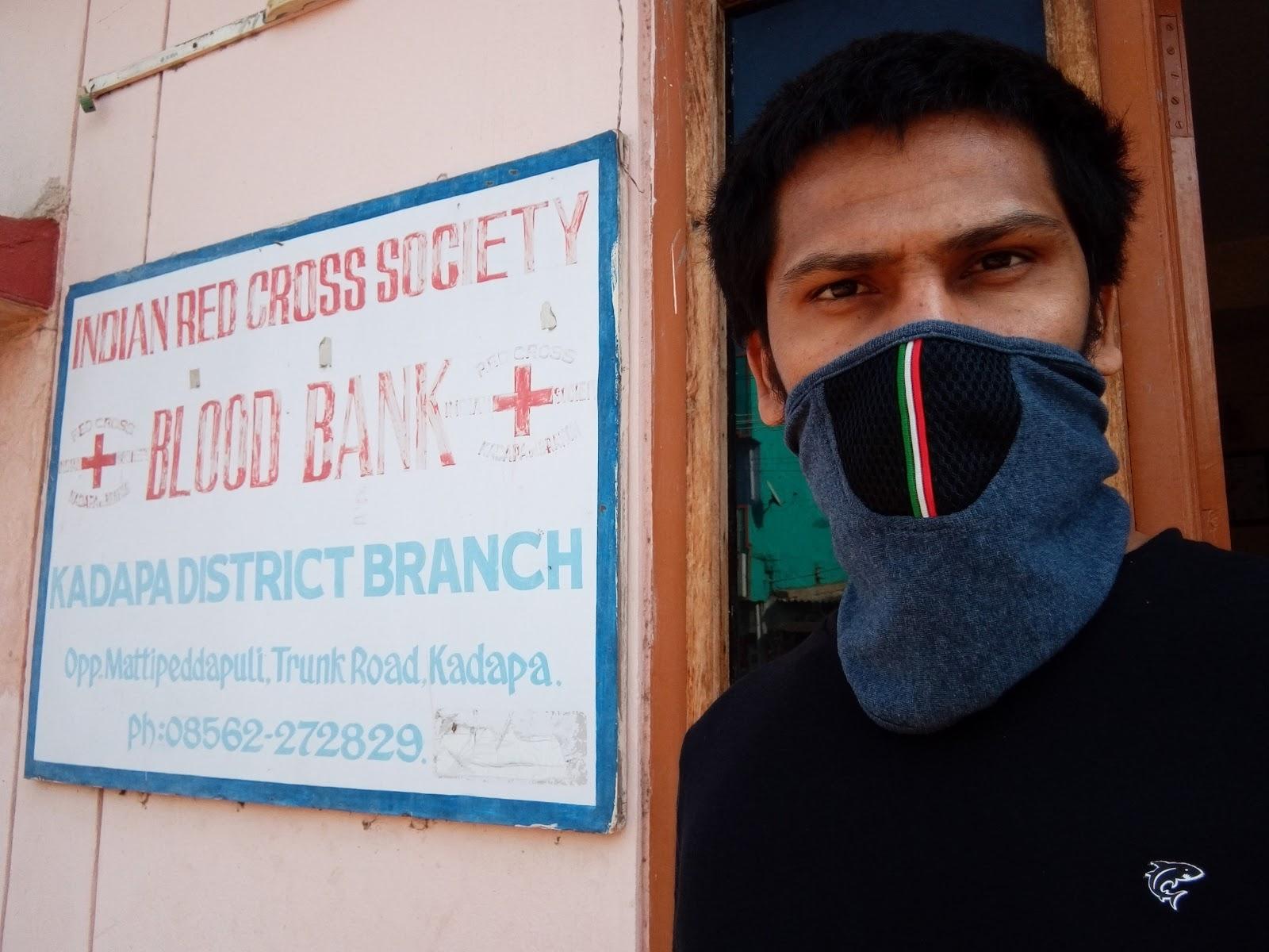 blood bank Indian Red Cross Society Blood Bank near Kadapa Andhra Pradesh