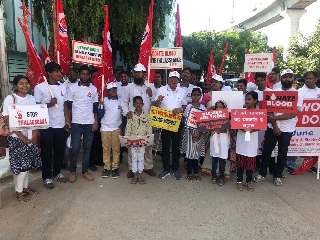 blood bank Thalassemia and Sickle Cell Society near Hyderabad Telangana