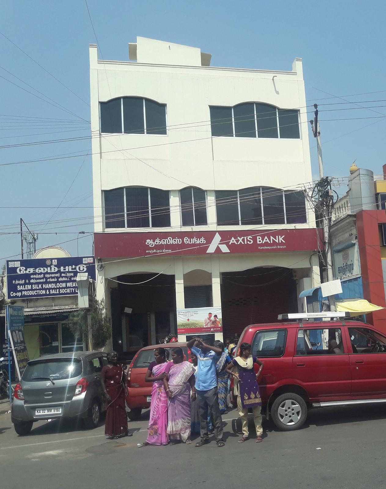 blood bank Axis Bank near Kanchipuram Tamil Nadu