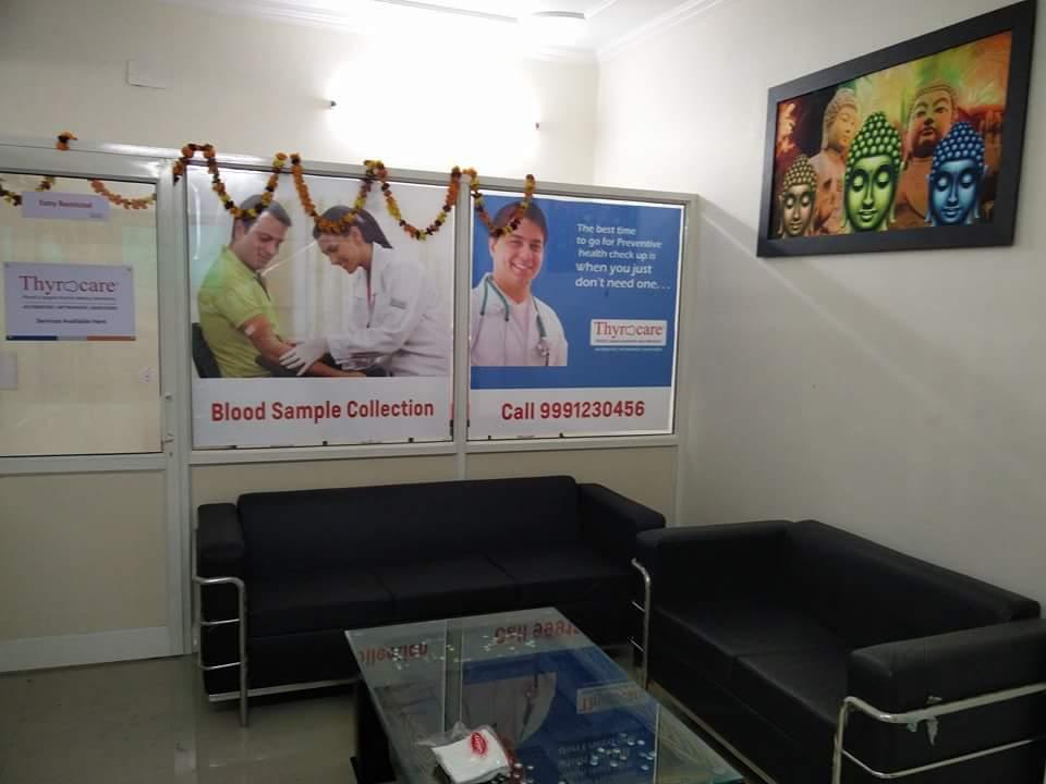 blood bank Thyrocare near New Delhi Delhi