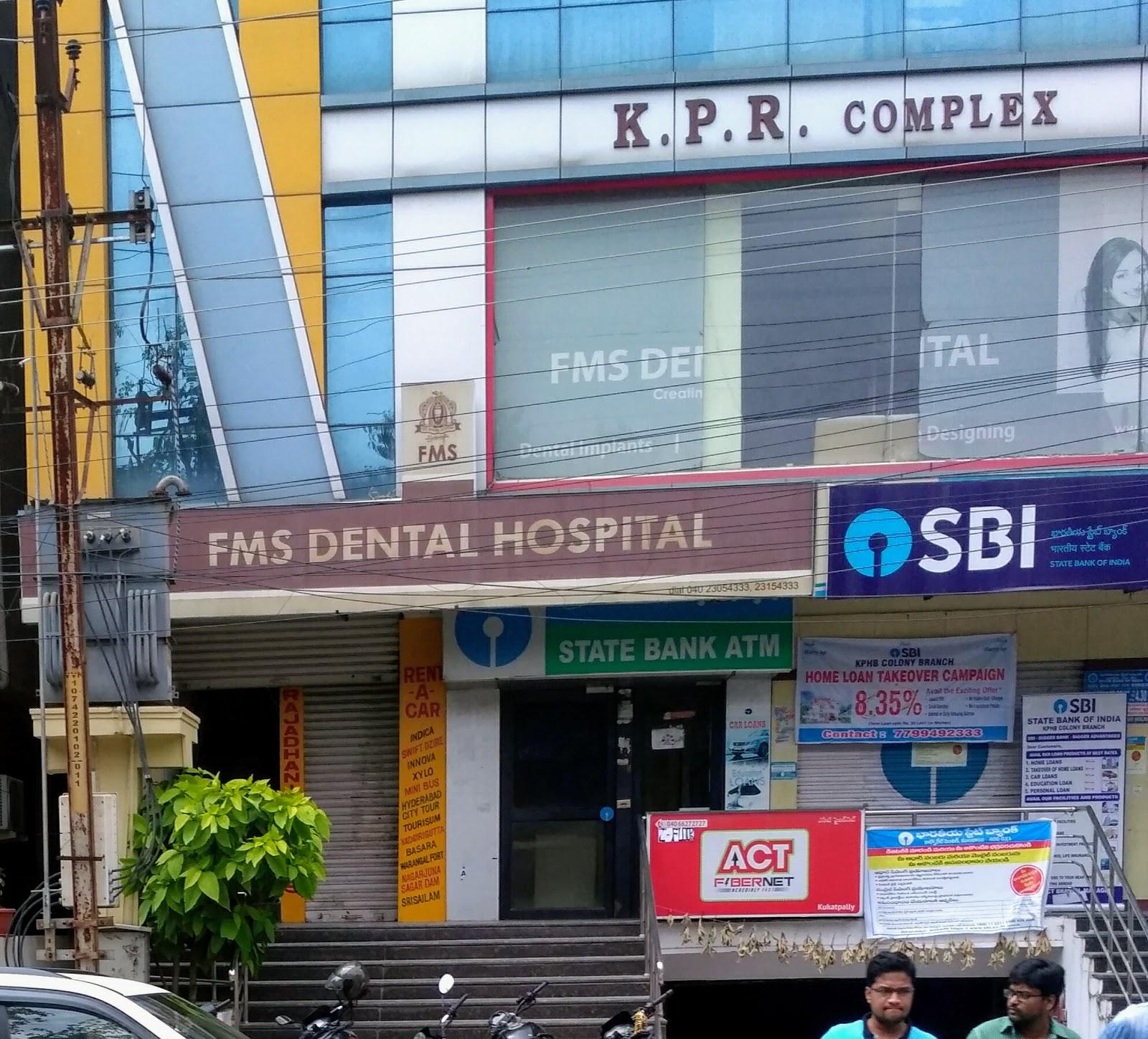 blood bank FMS DENTAL HOSPITAL near Hyderabad Telangana