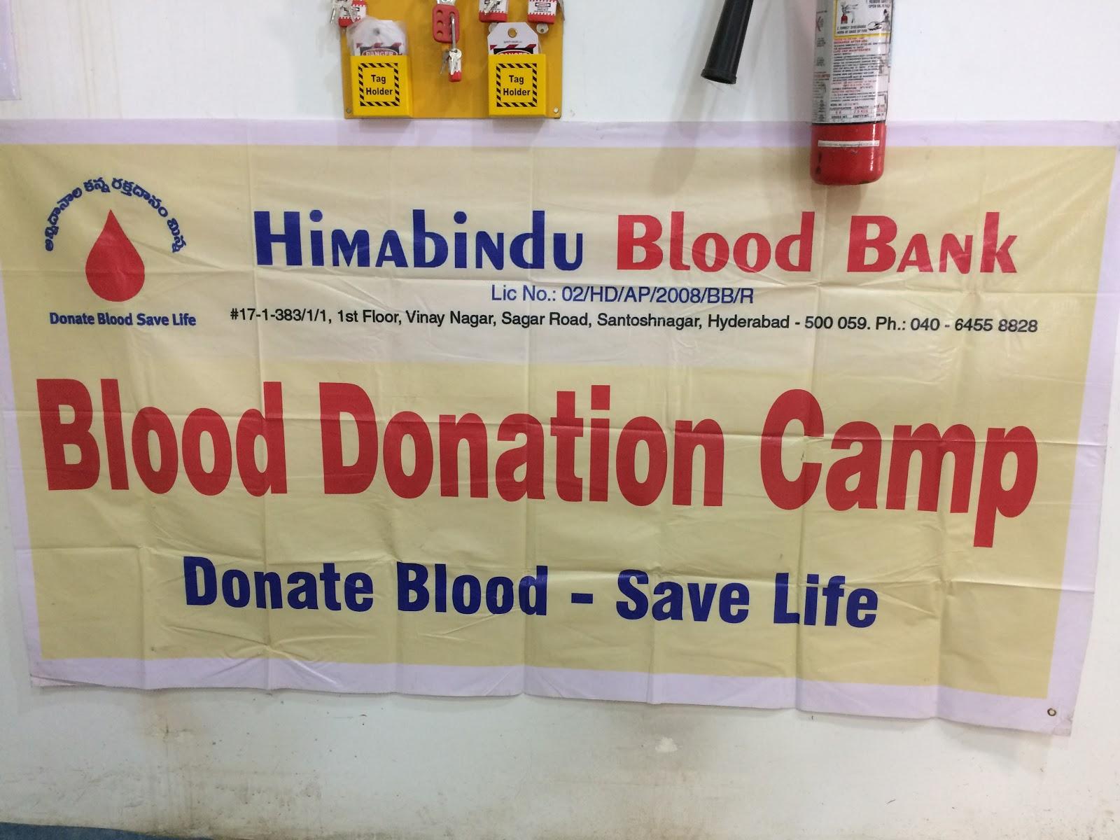 blood bank Himabindu blood bank near Hyderabad Telangana