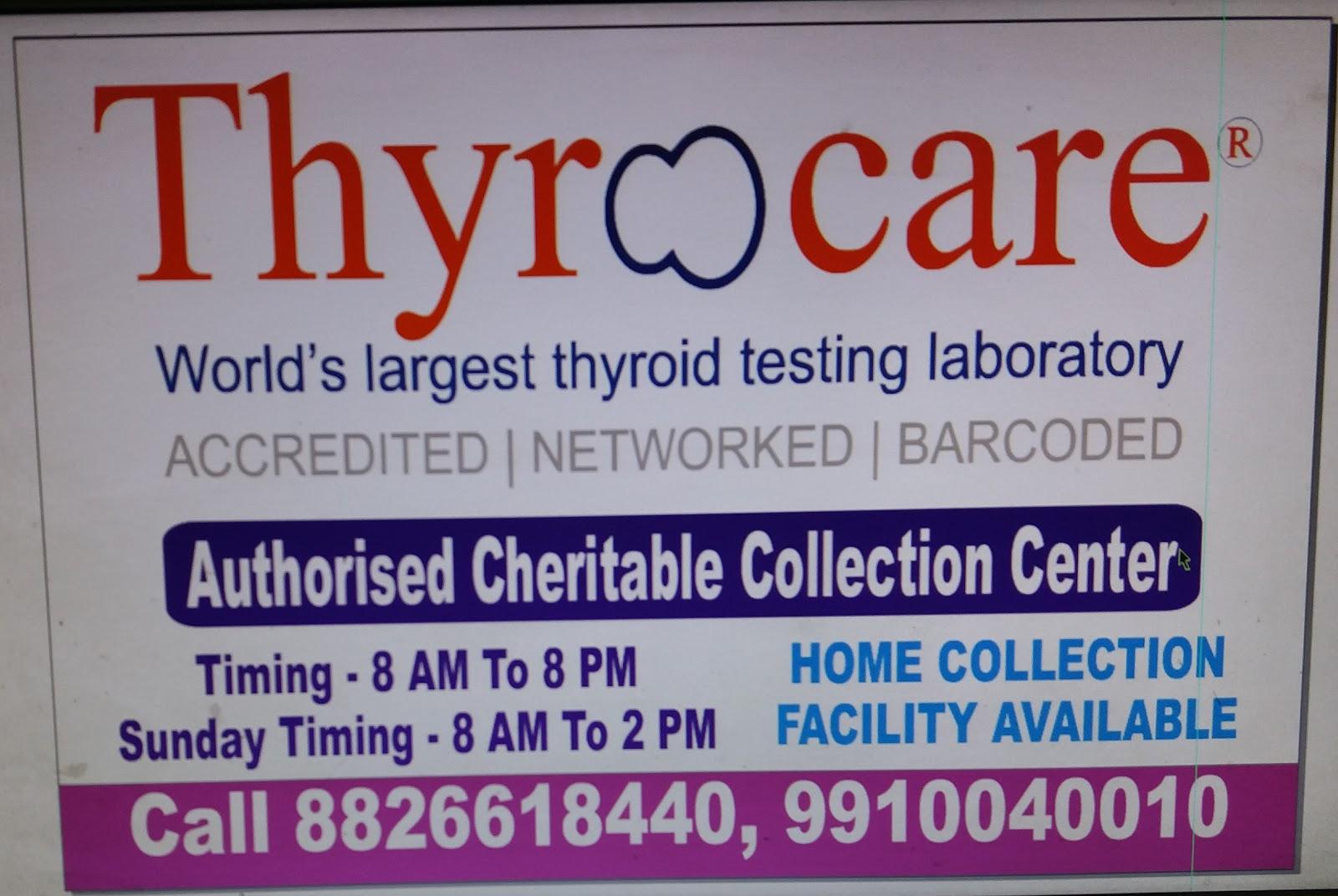 blood bank Thyrocare near Delhi Delhi