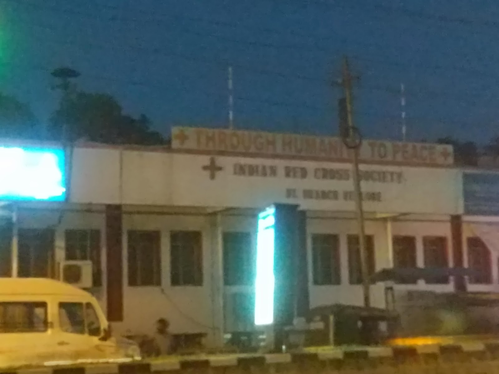 blood bank Indian Red Cross Society near Vellore Tamil Nadu