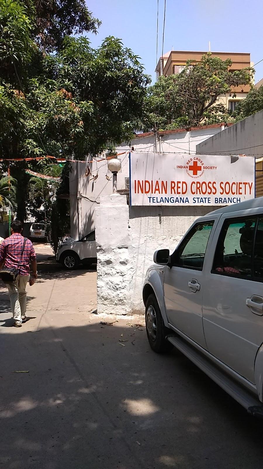 blood bank Indian Red Cross Society near Hyderabad Telangana