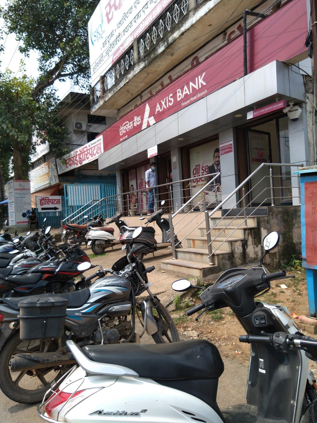 blood bank Axis Bank near Bilaspur Chhattisgarh