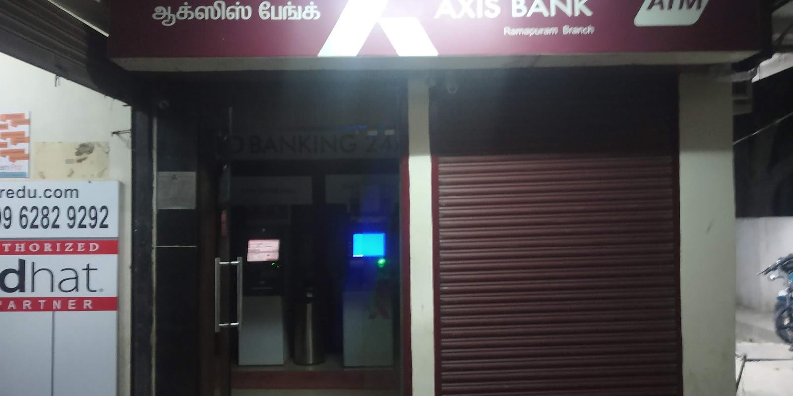 blood bank Axis Bank near Ramapuram Tamil Nadu