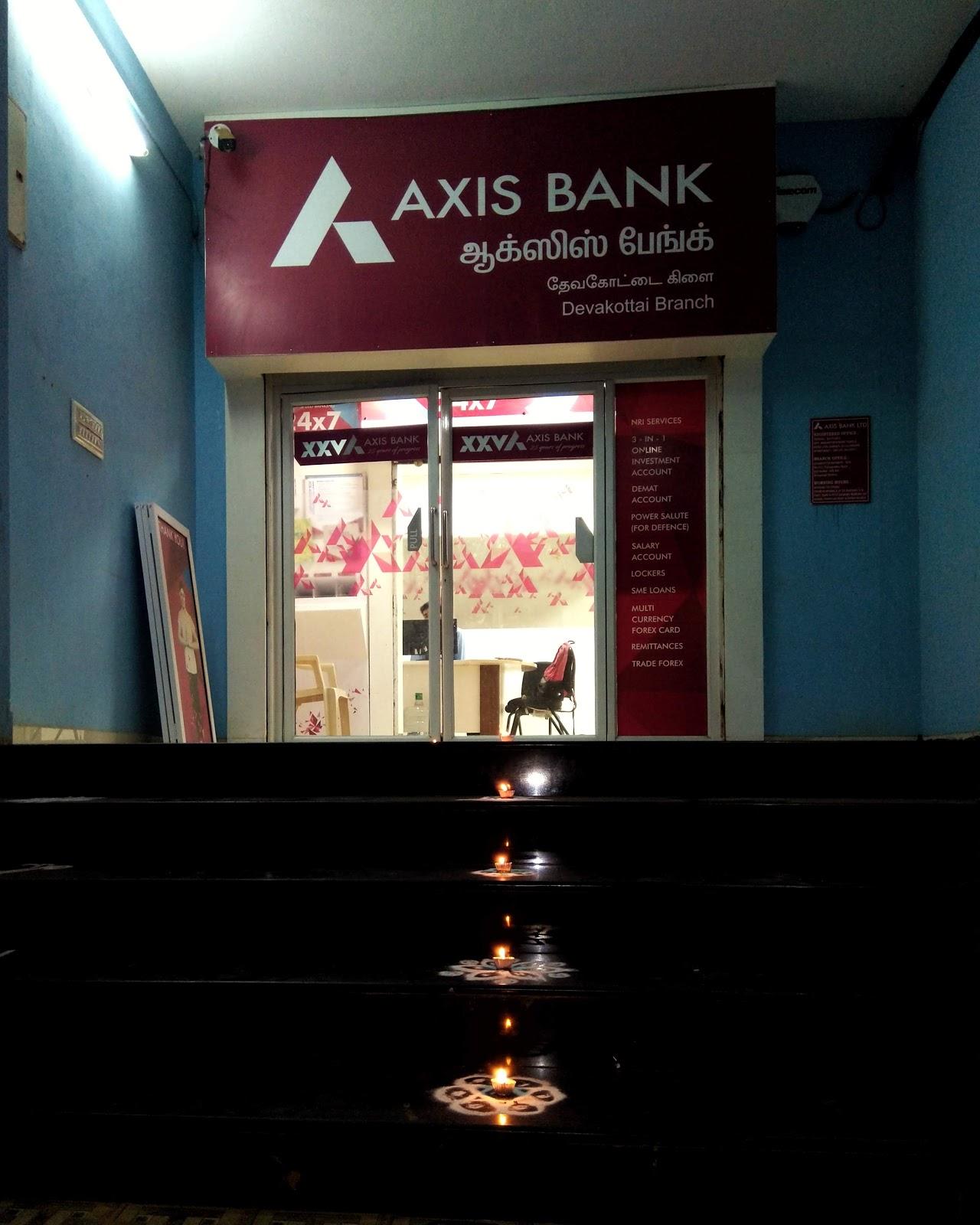 blood bank Axis Bank near Karaikudi Tamil Nadu