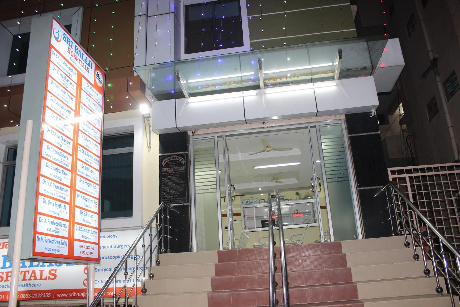Sri Balaji Hospitals Guntur Andhra Pradesh