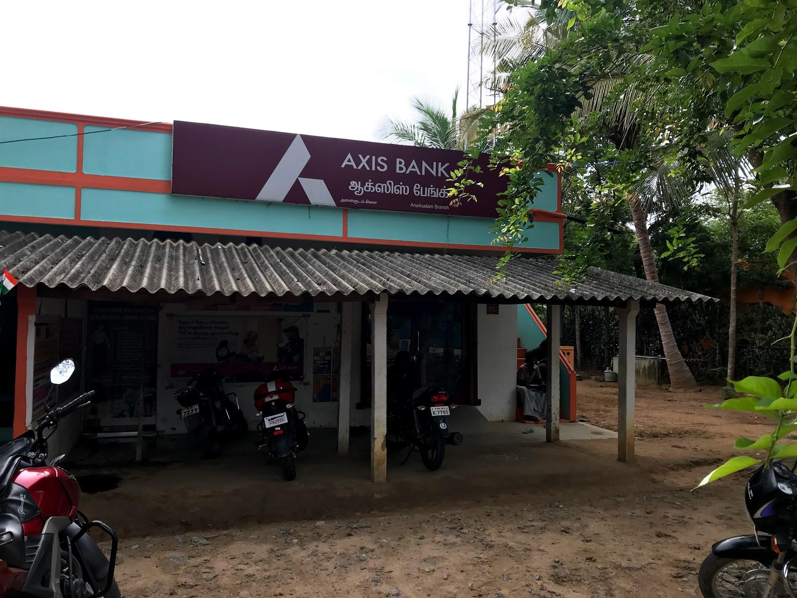 blood bank Axis Bank near Jayankondam Tamil Nadu