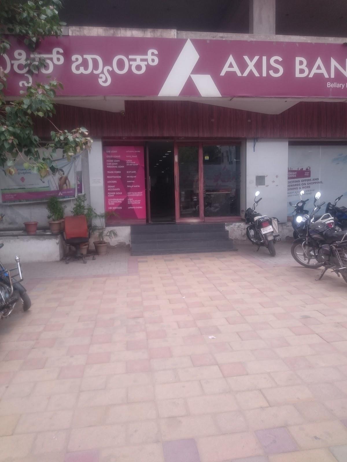 blood bank Axis Bank near Ballari Karnataka