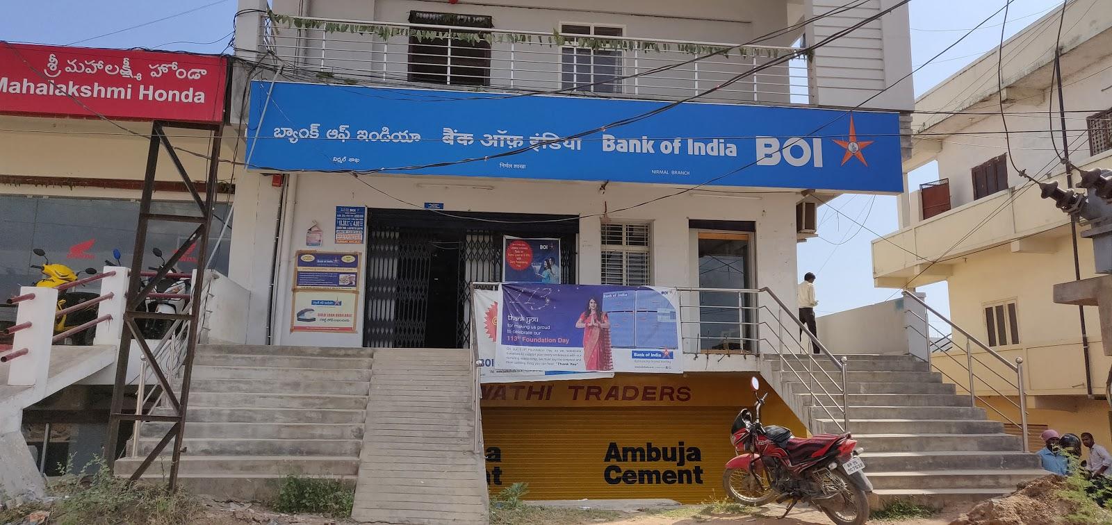 blood bank Bank Of India NIRMAL near Nirmal Telangana
