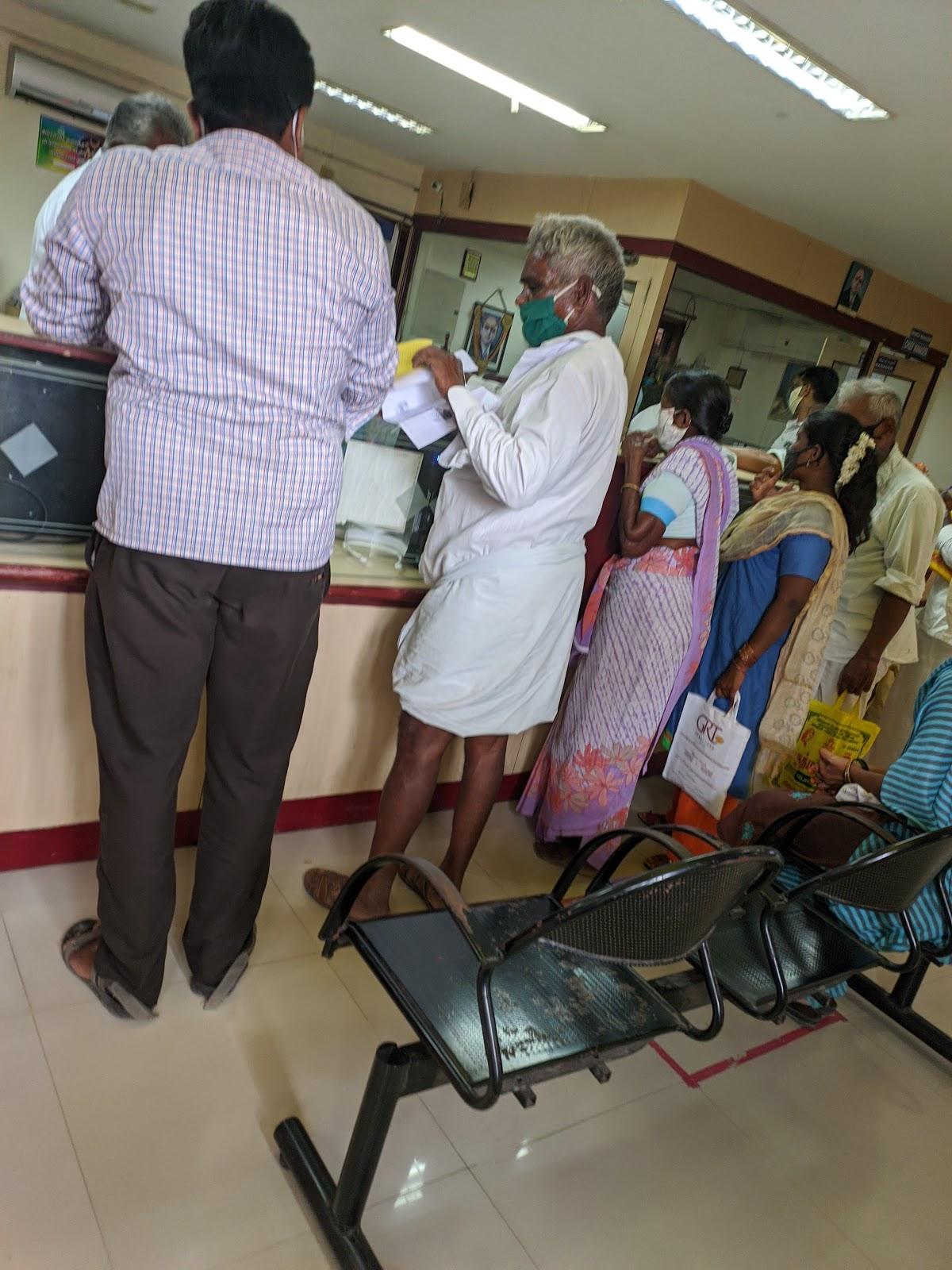 blood bank Indian Overseas Bank near Tiruvannamalai Tamil Nadu