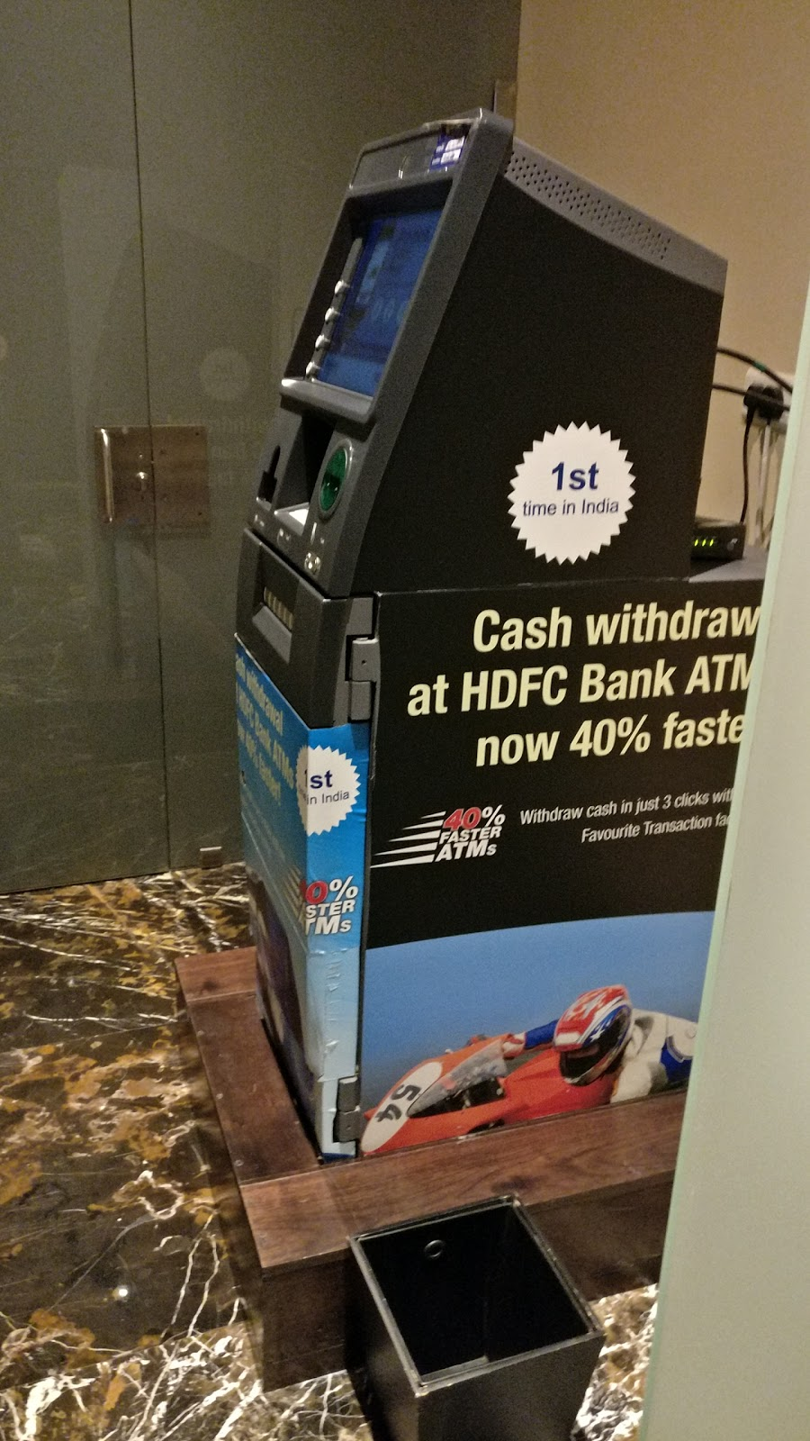 blood bank HDFC Bank ATM near Banjara Hills Telangana