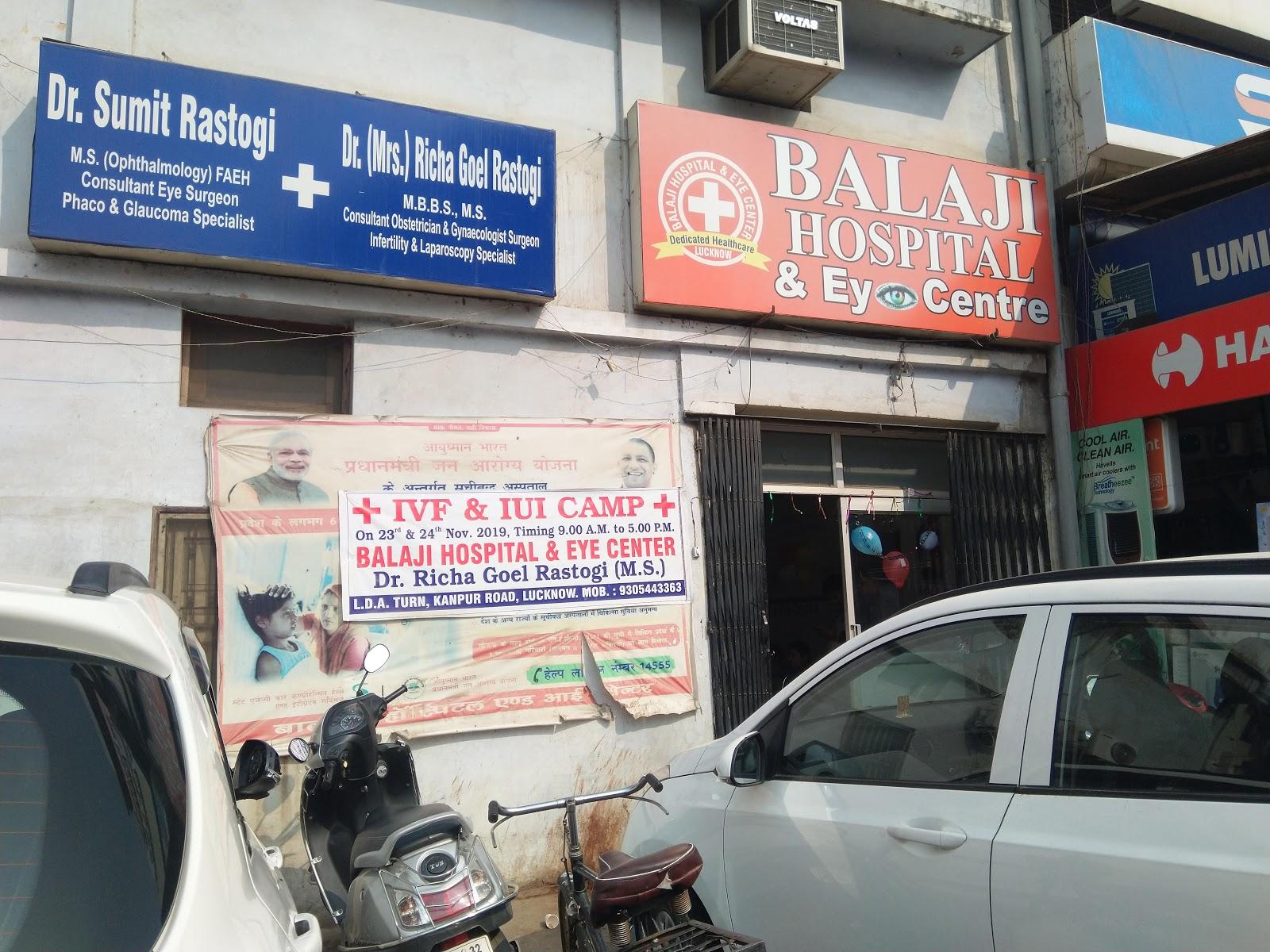 Balaji Hospital & Eye Centre Lucknow Uttar Pradesh