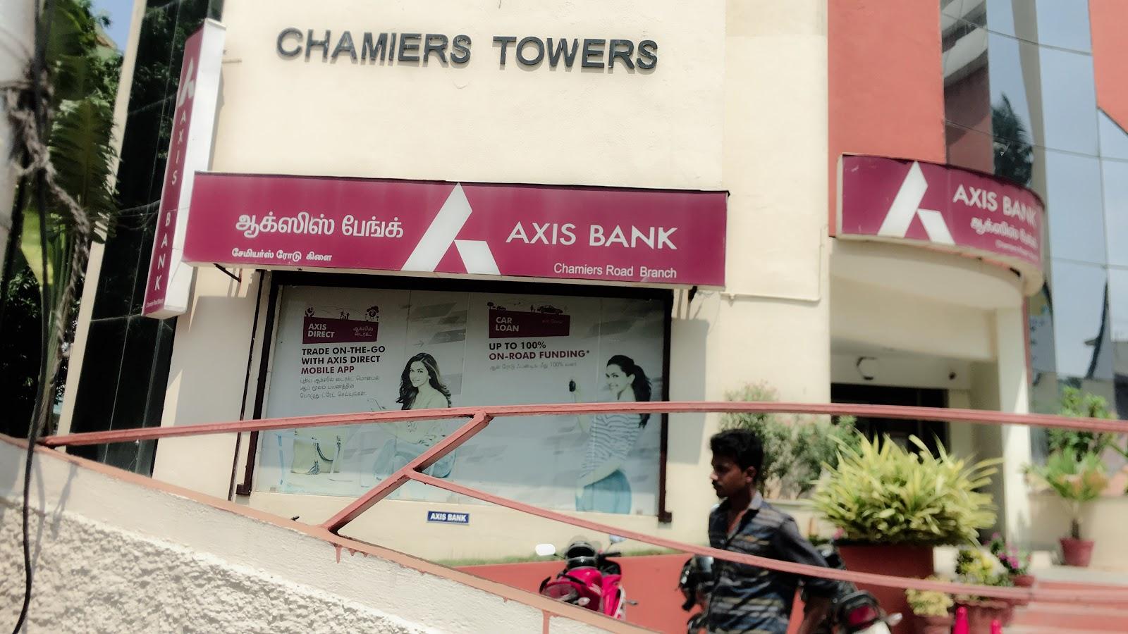 blood bank Axis Bank near Chennai Tamil Nadu