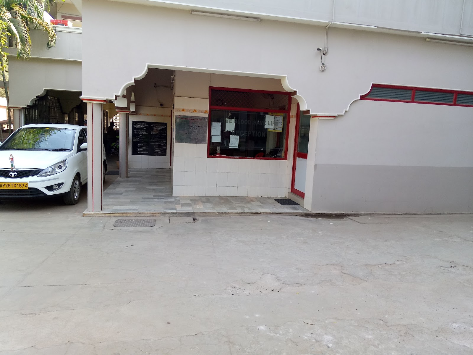 blood bank Indian Red Cross Society near Nellore Andhra Pradesh