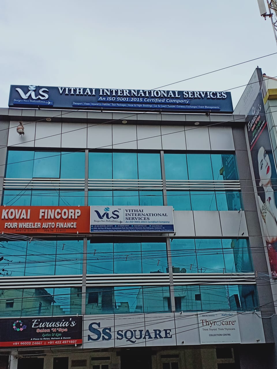 blood bank Thyrocare Collection Centre near New Siddhapudur Tamil Nadu