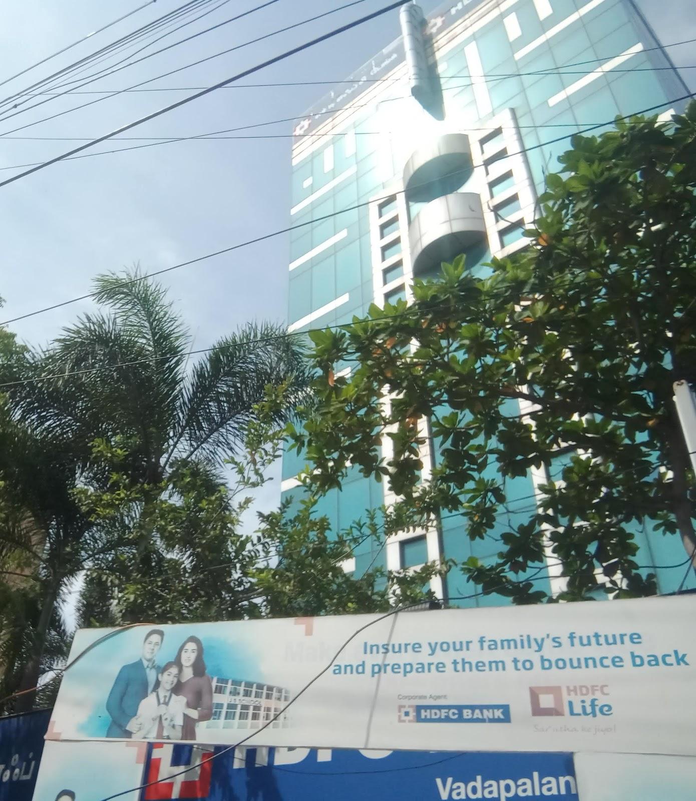 blood bank HDFC Bank ATM near Chennai Tamil Nadu