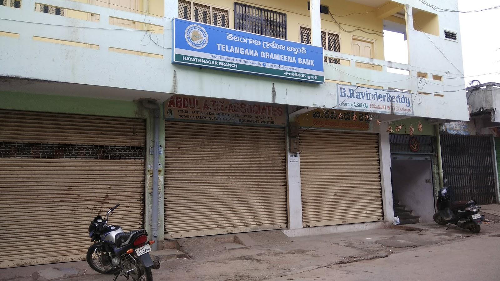 blood bank Telangana Grameena Bank near Hyderabad Telangana