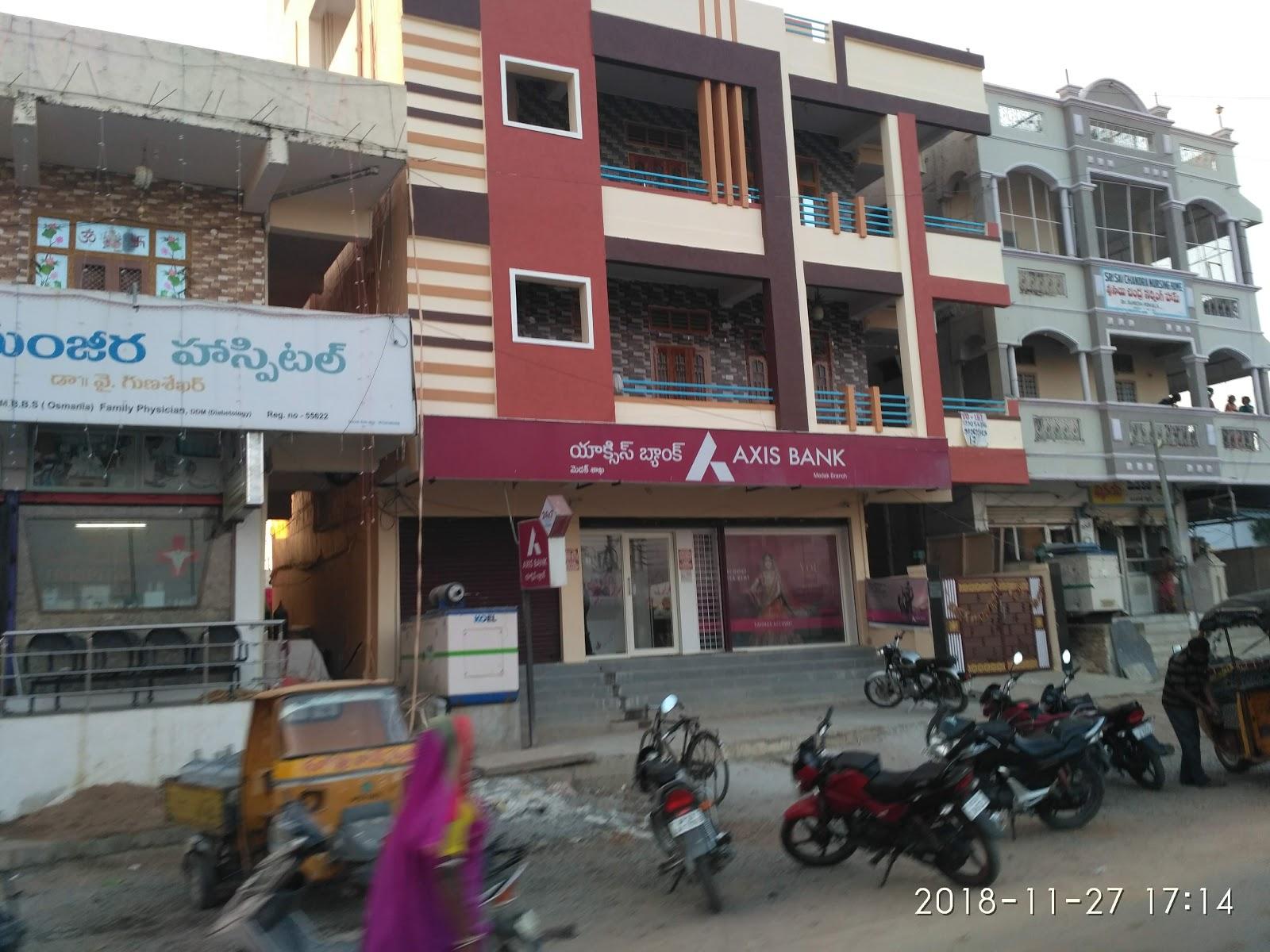 blood bank Axis Bank near Medak U Telangana