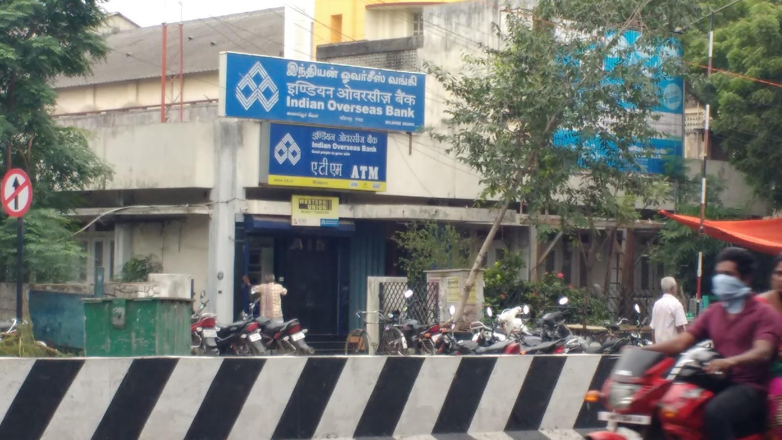blood bank Indian Overseas Bank near Chennai Tamil Nadu